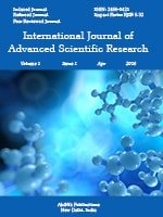 International Journal of Advanced Scientific Research